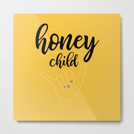 Honey child Metal Print