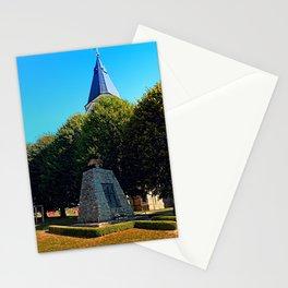 The war memorial of Eggendorf im Traunkreis Stationery Cards