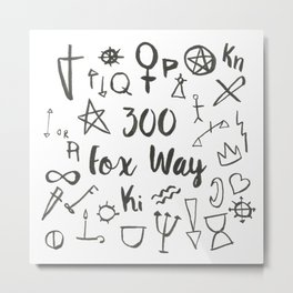 300 Fox Way Metal Print