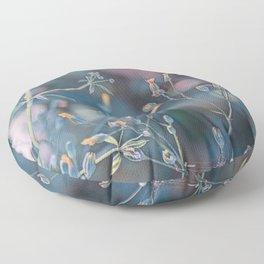 Small flowers Floor Pillow