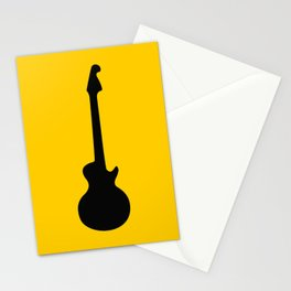 Simple Guitar Stationery Cards