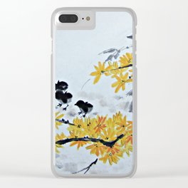 Chicks Under The Tree Clear iPhone Case