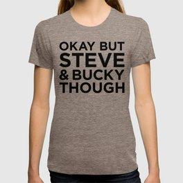 Steve and Bucky Though T-shirt