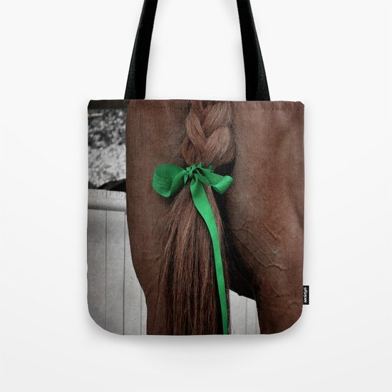 Braided horse tail Tote Bag