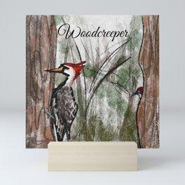 Woodcreeper Mini Art Print