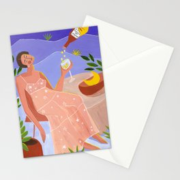 The moon and the stars are yours Stationery Cards