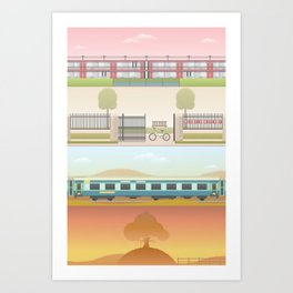 A Wes Anderson Collection Print 2 Art Print