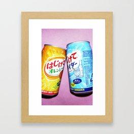 Soda pop art! #1 Framed Art Print