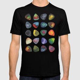 Guitar Picks Watercolor T-shirt