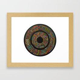 Game of Tones Framed Art Print
