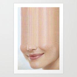 Elle #16 Art Print