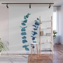 Eucalyptus Foliage Duo Wall Mural