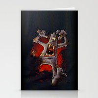 monster Stationery Cards featuring Monster! by Billy Allison