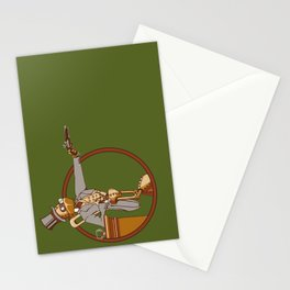The Windup Duelist Stationery Cards