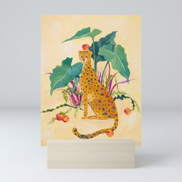 Cheetah and Apples Mini Art Print