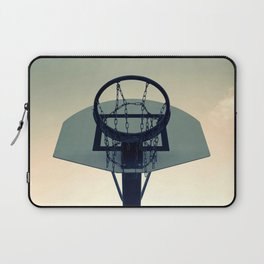 Basketball Sunset Laptop Sleeve