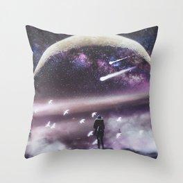 INFINITE WORLD #1 Throw Pillow