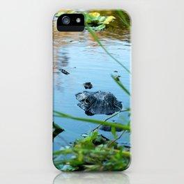 Mama & Baby Gator iPhone Case