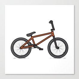 #17 BMX Canvas Print