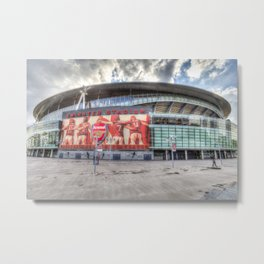 Arsenal Football Club Emirates Stadium London Metal Print