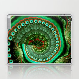 Pretty eyes, swirling pattern abstract Laptop & iPad Skin