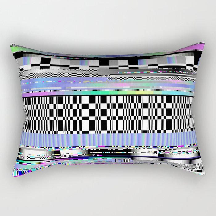 Glitch Ver.2 Rectangular Pillow