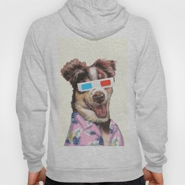 tropical shirt and the 3D glasses Hoody