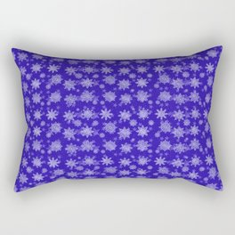 Winter Snowflakes Pattern #2 Rectangular Pillow