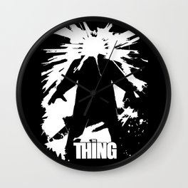 The Thing - John Carpenter Wall Clock