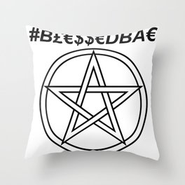 TRULY #BLESSEDBAE INVERSE Throw Pillow