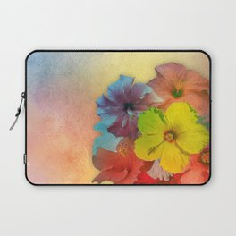 Colorful Hibiscus Bouquet Laptop Sleeve
