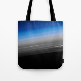 Blue Gray Smooth Ombre Tote Bag