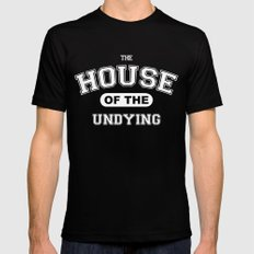 It's the House of the Undying. Mens Fitted Tee MEDIUM Black