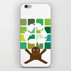 green world iPhone & iPod Skin