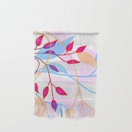 bright Flood of Leafs Wall Hanging
