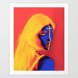 Zina Art Print