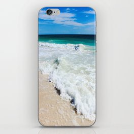 Tulum Waves iPhone Skin