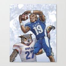 Wildcats versus Owls Canvas Print