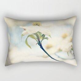 Love, the Dogwood Rectangular Pillow