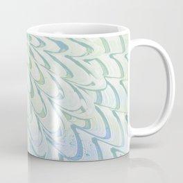 Blue Grey Fanning Coffee Mug