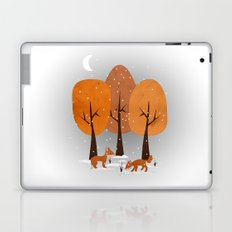 Winter Foxes Laptop & iPad Skin