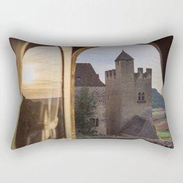 Castle Views Rectangular Pillow