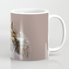 Shy squirrel Coffee Mug