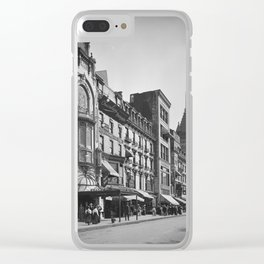 Tremont Street, Boston. 1906 Clear iPhone Case