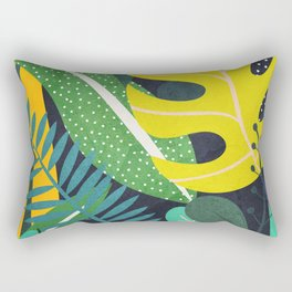 Tropical Flora II Rectangular Pillow