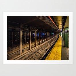 59th Street Station Art Print