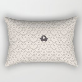 Black Sheep Rectangular Pillow