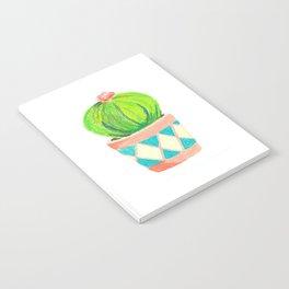Round Cactus Notebook