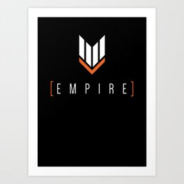 Empire Gaming Symbol Shirt Art Print