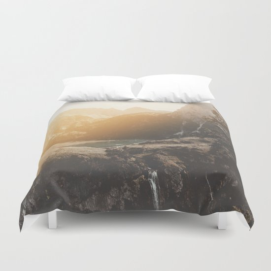Is this real landscape photography Duvet Cover